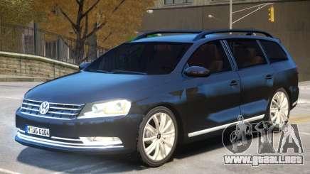Volkswagen Passat B7 para GTA 4