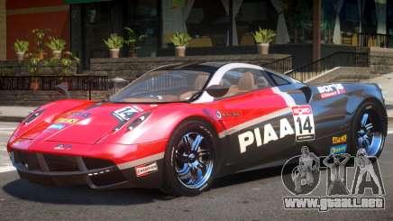 Pagani Huayra V1.1 PJ2 para GTA 4