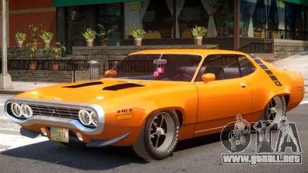 Plymouth Roadrunner para GTA 4