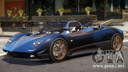 Pagani Zonda F V1.2 para GTA 4