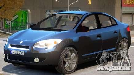 Renault Fluence V1 para GTA 4