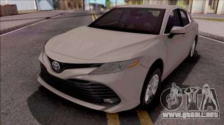 Toyota Camry 2019 Saudi Drift Edition para GTA San Andreas