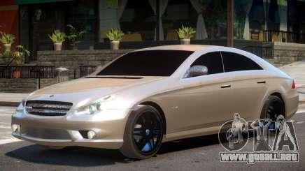 Mercedes CLS Brabus para GTA 4