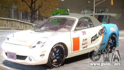 Toyota MRS2 V1 PJ1 para GTA 4