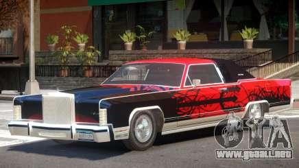1979 Lincoln Continental Diablo para GTA 4