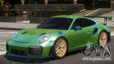 Porsche 911 GT2 RS V2 para GTA 4