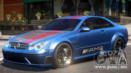Mercedes CLK63 AMG V1 PJ2 para GTA 4