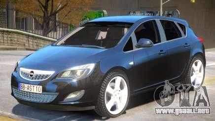 Opel Astra V2 para GTA 4