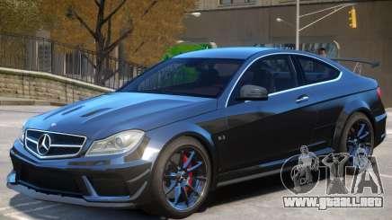 Mercedes C63 AMG para GTA 4