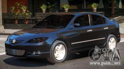 Mazda 3 V1.1 para GTA 4