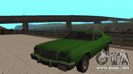 Ford Gran Torino 1974 Verde para GTA San Andreas