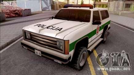 Lietuviska Police Ranger v2 para GTA San Andreas
