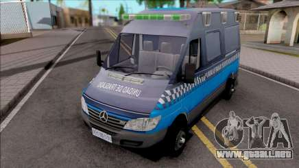 Mercedes-Benz Sprinter Unidad de Traslado para GTA San Andreas