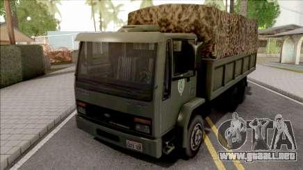Ford Cargo 2422 Exercito Brasileiro para GTA San Andreas