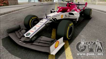 Alfa Romeo C38 F1 2019 para GTA San Andreas