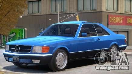 1987 Mercedes W126 R1 para GTA 4