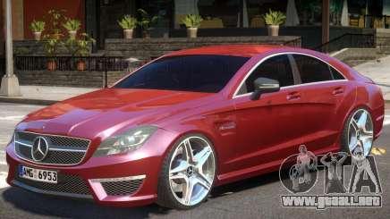 Mercedes CLS 63 AMG V1 para GTA 4