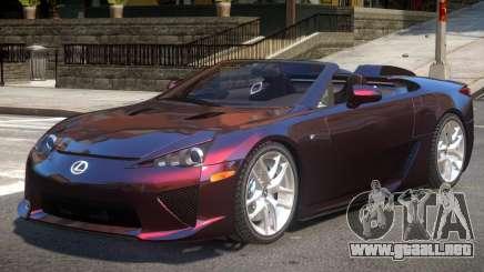 Lexus LF-A Spider para GTA 4