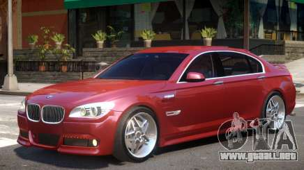 BMW F02 V1 para GTA 4
