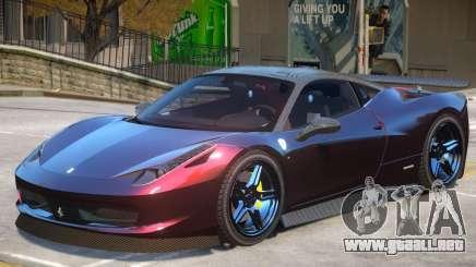 Ferrari 458 V2.0 para GTA 4