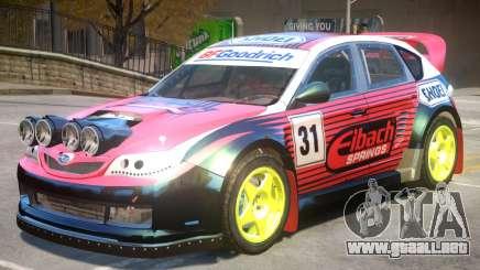 Subaru Impreza Drift V1 PJ5 para GTA 4