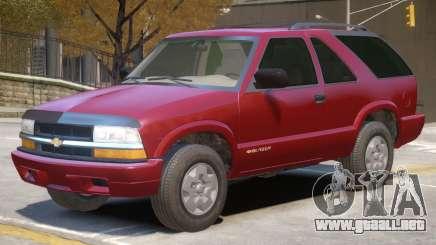 Chevrolet Blazer V1 R2 para GTA 4