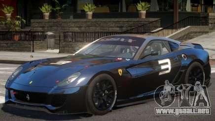Ferrari 599XX V1 PJ para GTA 4