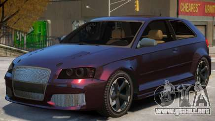 Audi S3 Tuning para GTA 4