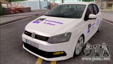 Volkswagen Polo GTI 2014 Digi24 HD para GTA San Andreas