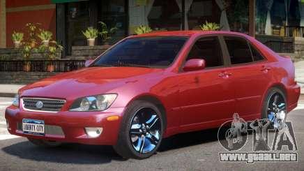 Lexus IS300 R2 para GTA 4