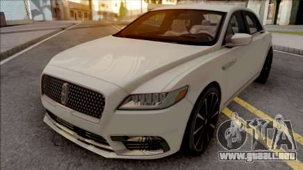 Lincoln Continental White para GTA San Andreas