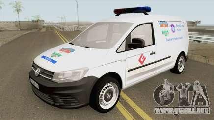 Volkswagen Caddy (Magyar Rendorseg) para GTA San Andreas