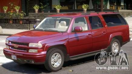 Chevrolet Suburban V1.1 para GTA 4