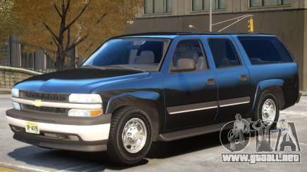 Chevrolet Suburban V1.0 para GTA 4