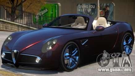 Alfa Romeo Spider para GTA 4