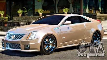Cadillac CTS-V V2 para GTA 4
