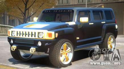 Hummer H3 V1.2 para GTA 4