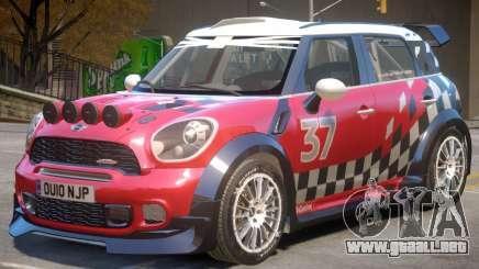 Mini Countryman Rally Edition V1 PJ1 para GTA 4