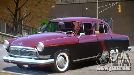 1965 GAZ 21 para GTA 4