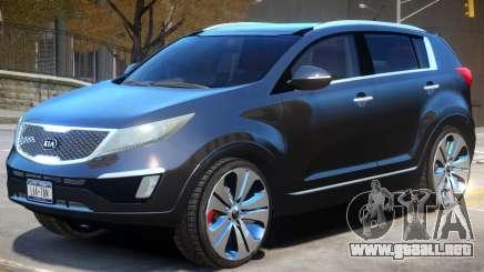 Kia Sportage V2 para GTA 4