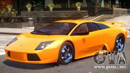 Lamborghini Murcielago Y05 para GTA 4