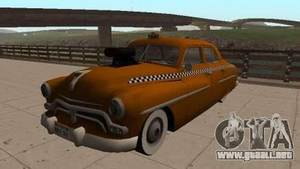 1950 Mercury Monterey Sedán de TAXI para GTA San Andreas