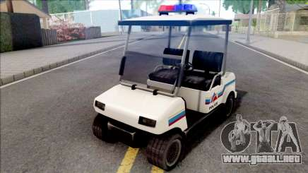 Nagasaki Caddy 1992 Hometown Police para GTA San Andreas