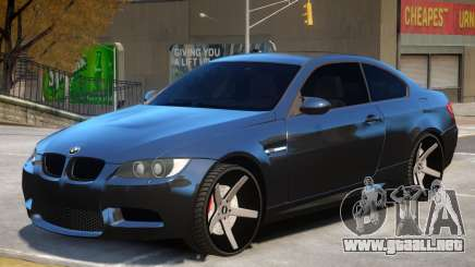 BMW M3 E92 M7 para GTA 4