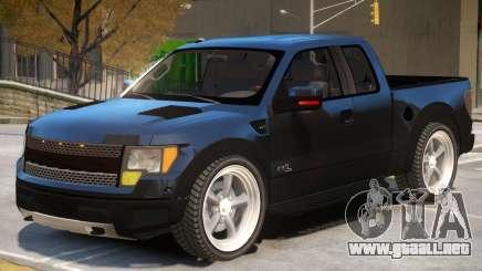 Ford F 150 SVT DUB para GTA 4