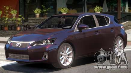 Lexus CT200h V1 para GTA 4