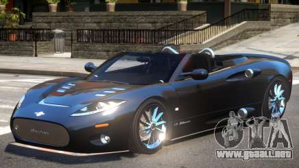 Spyker C8 V1.1 para GTA 4