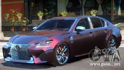 Lexus GS-F V1 para GTA 4