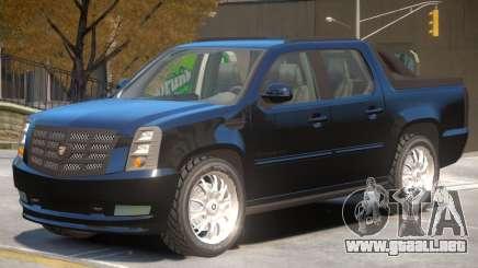 Cadillac Escalade Pickup para GTA 4
