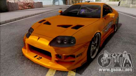 Toyota Supra Fast & Furious with O.Z Wheel para GTA San Andreas